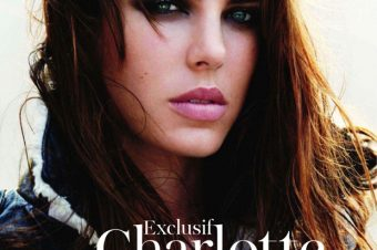Charlotte Casiraghi pour Vogue France