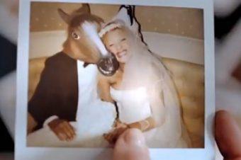 Elle a épousé un cheval !