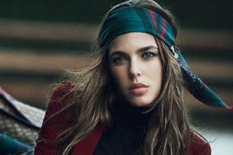Charlotte Casiraghi se met en selle pour Gucci