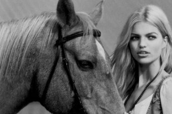 Balade au ranch pour le magazine H&M printemps-été 2012