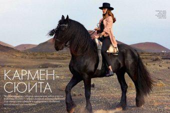 [Fashion Editorial] ELLE Russia s'initie au pas espagnol