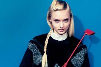 [Fashion Editorial] La petite cavalière modèle de Teen Vogue