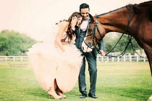[Equestrian Wedding] L'amour à Dubaï