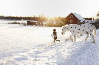 [Fashion] Un cheval blanc (mais étoilé) pour Benetton