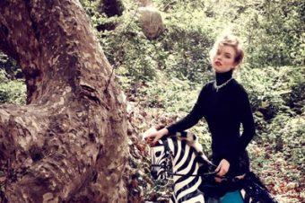 [Fashion] Le zèbre à bascule de Marie Claire Turkey
