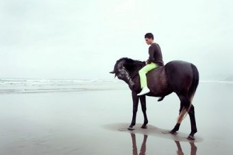 [Fashion] Galop d'essai pour David K. Shield sur Murawai beach