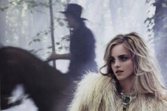 [People] Fougueuse Emma Watson