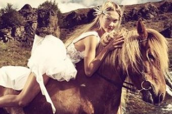 [Fashion Photography] Oliver Gast : la cavalcade islandaise