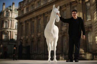 [Sculpture] The White Horse, inauguré à Londres