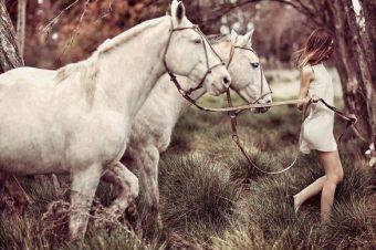 [Fashion Advertising] Les chevaux blancs de Chocolate