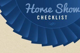 [Equestrian tips] Concours d'équitation : la checklist du champion