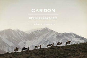 [Fashion] Cardon, la chevauchée argentine