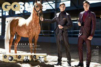 [Fashion Editorial] GQ Style : le gentleman cavale