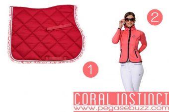 [Equestrian Fashion] À la mode estivale : Coral Instinct