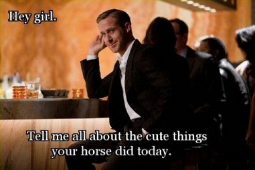 [Buzz] Ryan Gosling goes equestrian