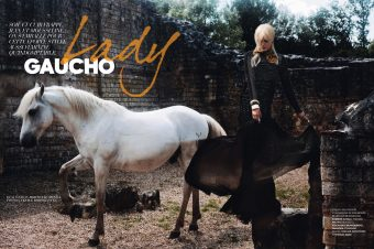 [Fashion Editorial] Elle France confond Gardian et Gaucho