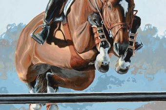 [Equestrian Fine Art | Painting] Lesley Alexander