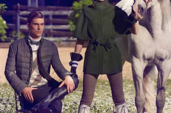 [Fashion Editorial] Le cheval blanc de Vogue Germany