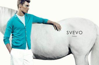 [Fashion Ad Campaign] Le cheval blanc de Svevo