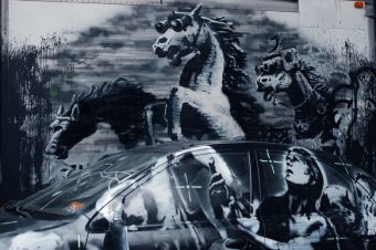[Street Art] Banksy goes Equestrian in New-York