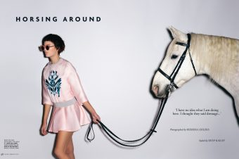 [Fashion Editorial] Tatler UK is horsing around