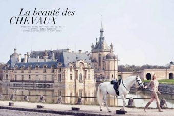 [Fashion Editorial] A la mode des Grandes Ecuries de Chantilly