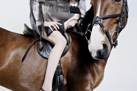 [Fashion Ad Campaign] Edie Campbell et Dolly pour Lanvin FW 2014