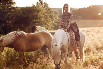 [Fashion Editorial] Eurowoman : Jette Jørs entre en campagne