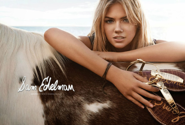 www.pegasebuzz.com | Kate Upton by Craig McDean for Sam Edelman, spring-summer 2014