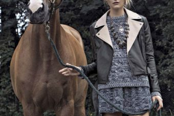 [Fashion Editorial] Vanity Fair fait son Crazy Horse