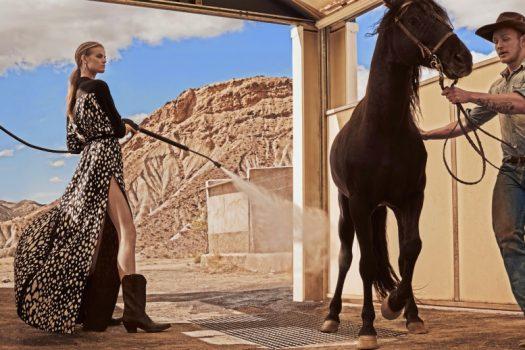 [Fashion Editorial] Une cowgirl dans Vogue Espagne
