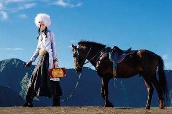 [Fashion Editorial] Les poneys de Java pour Harper's Bazaar