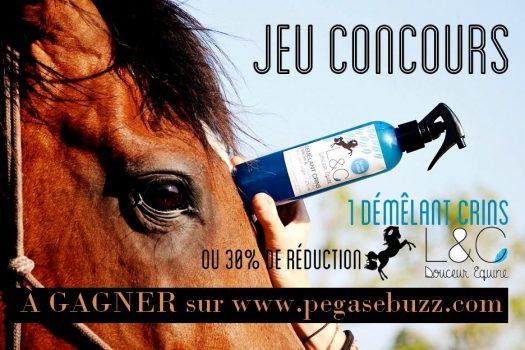 [Jeu Concours] Les soins pour chevaux L&C Douceur Equine