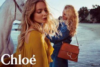 [Fashion Ad Campaign] Les chevaux d'été de Chloé