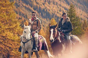 [Fashion Editorial] Les nouveaux cavaliers western de GQ Italia