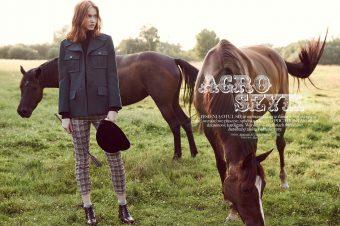 [Fashion Editorial] L'agro chic chez Glamour Poland