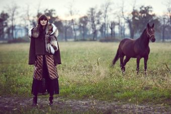 [Fashion Editorial] Horses, ou comment passer l'hiver en Ukraine