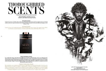 [Beauty Editorial] Horse Magazine : l'Homme pur-sang
