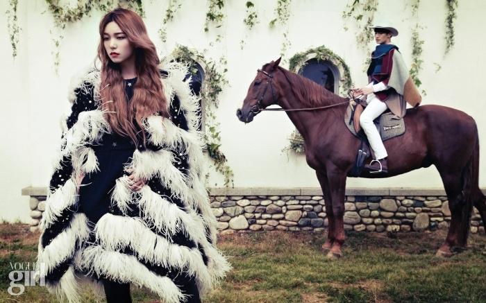 www.pegasebuzz.com   Lee Ho Jung and Kim Taehwan by Tae Woo for Vogue Girl Korea, november 2014