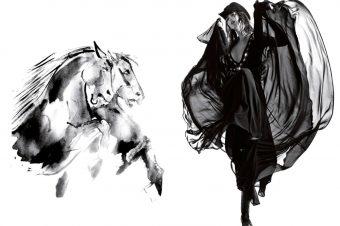 [Fashion Editorial] Horse Magazine : Cow-girls