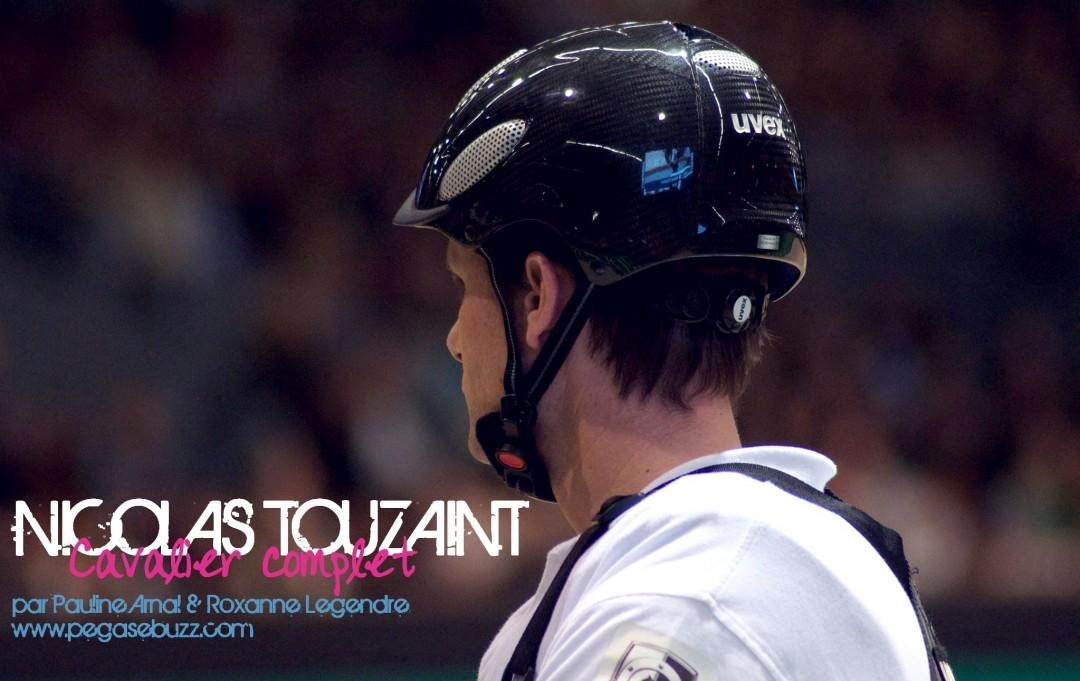 www.pegasebuzz.com   Nicolas Touzaint au Cross Indoor de Bordeaux 2015 - Photographes : Pauline Arnal, Roxanne Legendre