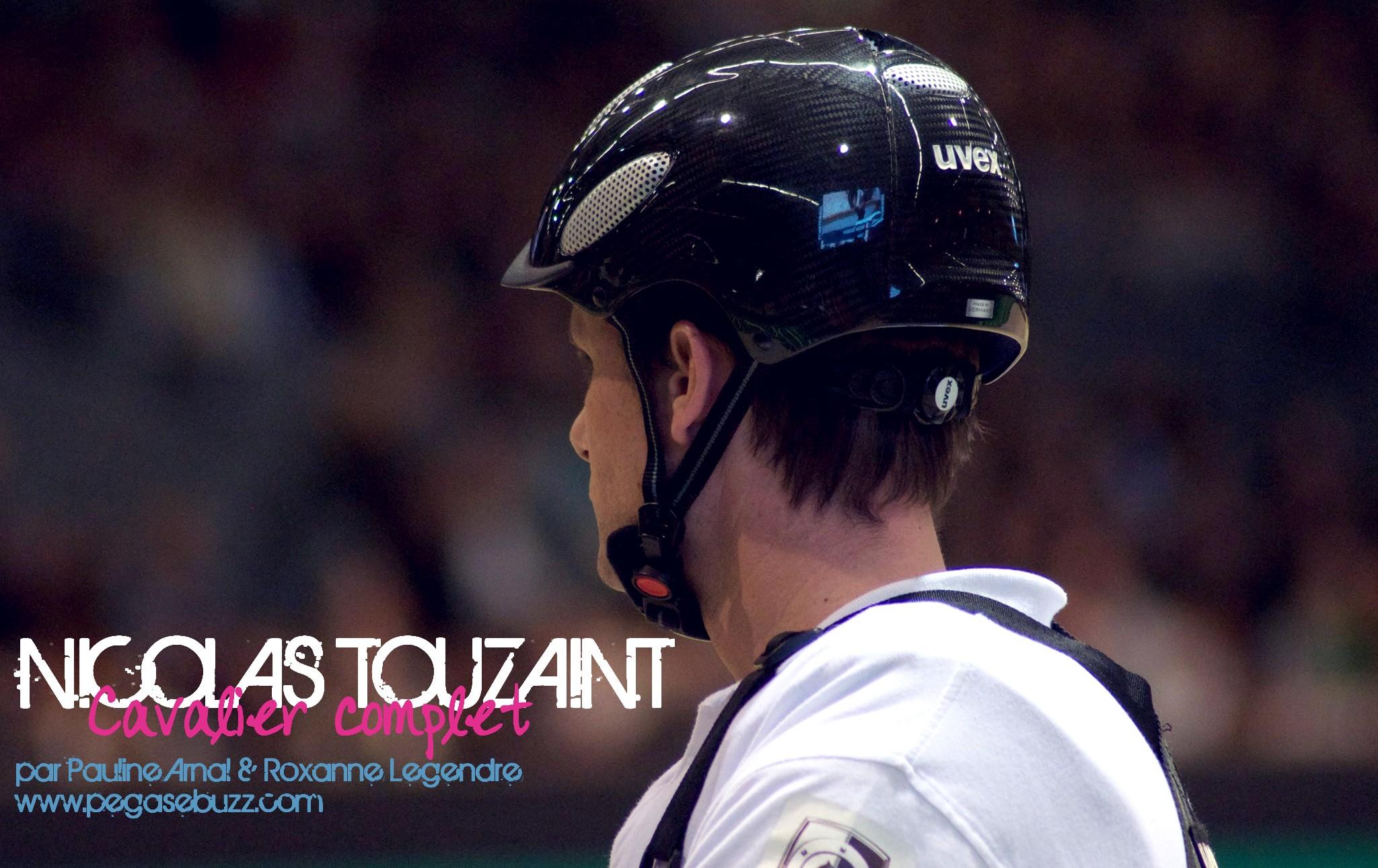 Nicolas Touzaint par Pauline Arnal & Roxanne Legendre pour PegaseBuzz