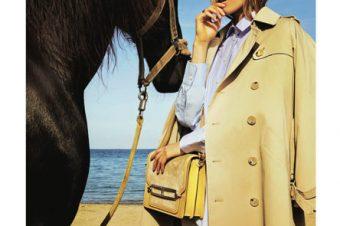 [Fashion Editorial] Les chevaux sur la plage pour ELLE Germany