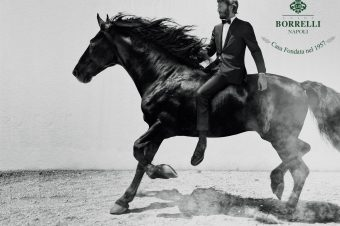 [Fashion] Le cheval noir de Luigi Borrelli