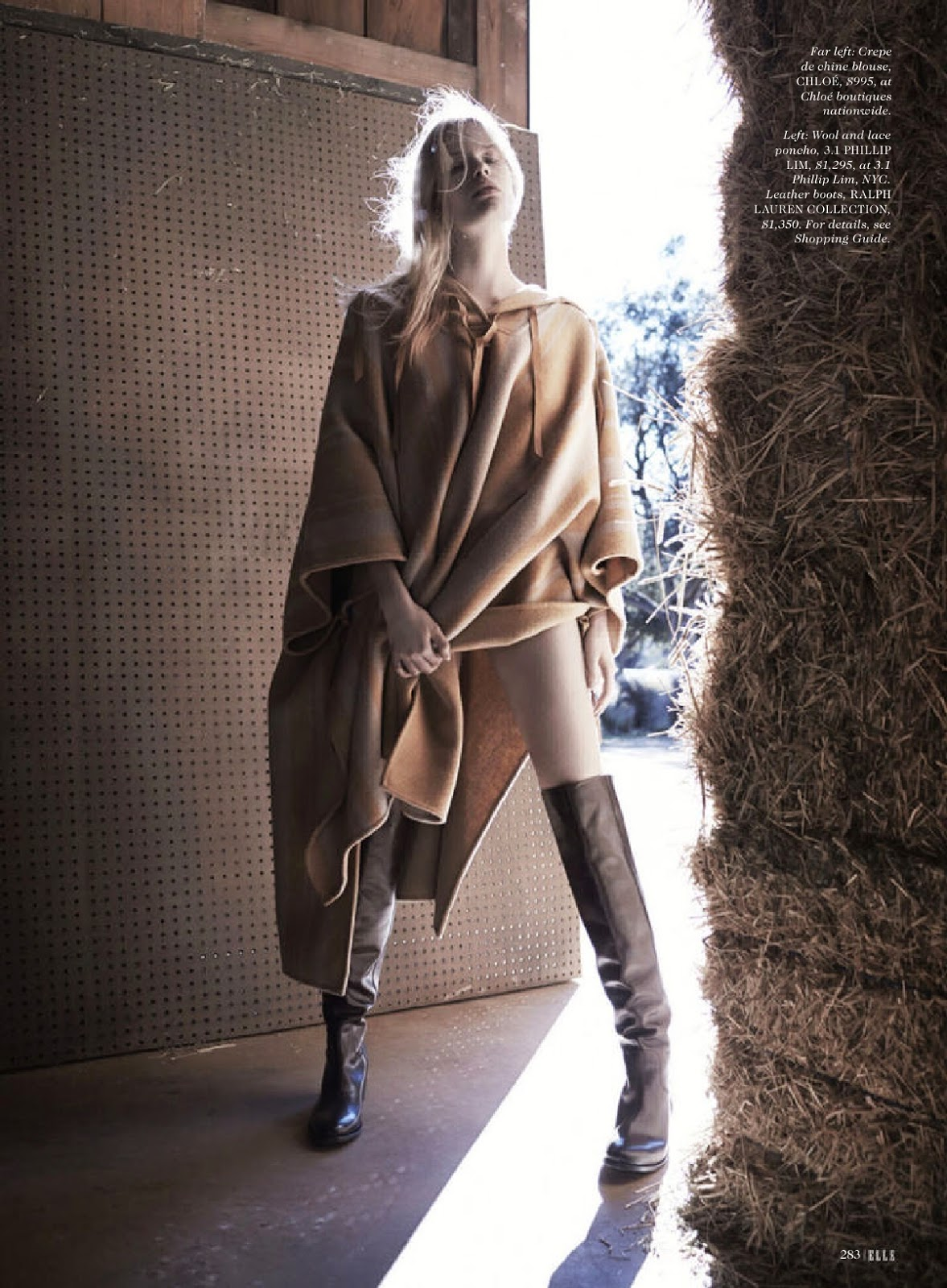 [Fashion Editorial] Alena Blohm by Liz Collins for Elle US ...