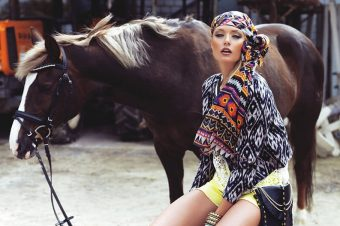 [Fashion Editorial] Moi Ostrov : Hippie is the new Happy