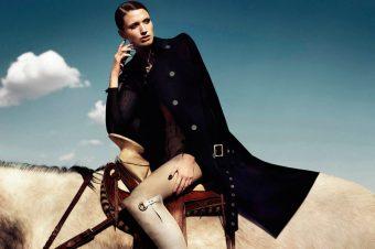 [Fashion Editorial] La cavalière du désert de Marie-Claire Latin America
