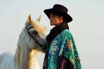 [Fashion Editorial] La cavalière sauvage d'ELLE France
