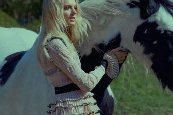 [Fashion Editorial] Le cheval pie d'ELLE UK
