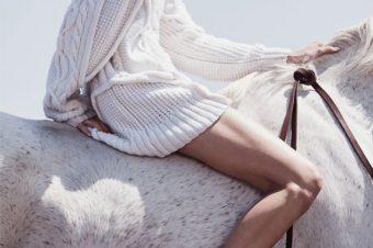 [Fashion Editorial] Le cheval blanc de Vogue Mexico